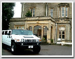 Chauffeur stretch white Hummer H2 limousine hire in London, Berkshire, Surrey, Buckinghamshire, Hertfordshire, Essex, Kent, Hampshire, Northamptonshire